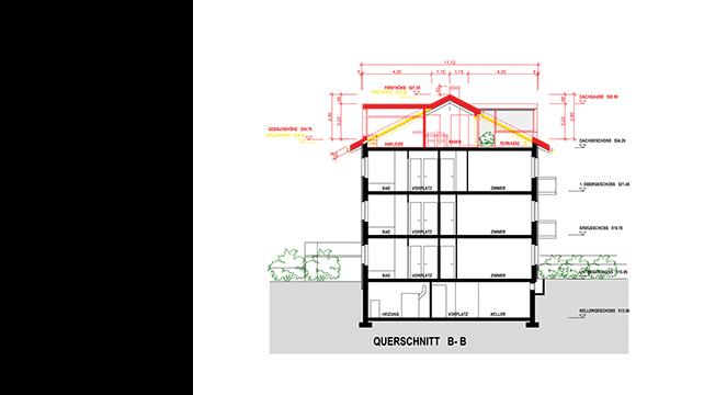 ausbau dachgeschoss mehrfamilienhaus. Black Bedroom Furniture Sets. Home Design Ideas